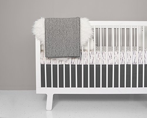 Crib Bedding Set - Feather Blush Design by OLLI+LIME