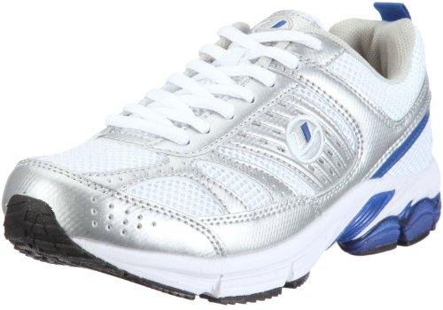 Ultrasport Unisex Erwachsenen Outdoor Sport- und Laufschuh - Velocity Blau (White/silver/blue 160)