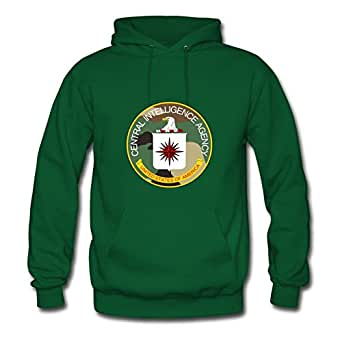 Off-the-record Cia_woodland_pattern Hoody Cool Designed Green Cotton X-large Women Personalized