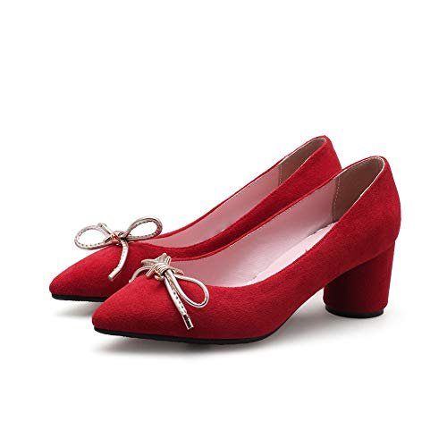 Sandales Red 36 DGU00688 Femme Compensées Rouge AN 5 Xwn5fq1q
