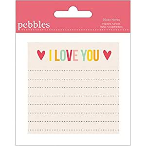 Pebbles Sticky Notes, I Love You