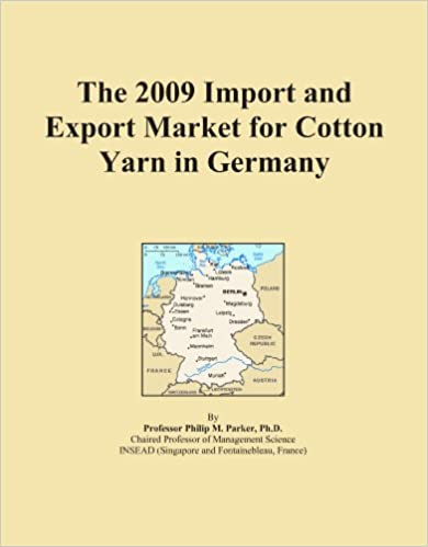 Book The 2009 Import and Export Market for Cotton Yarn in Germany