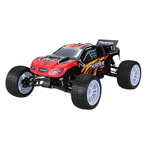 Baoblaze 1/10 Remote Control ZD Racing 10423 Thunder Truggy Truck Body Frame DIY ()