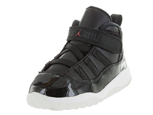 super popular 144b1 c5d7b Nike Jordan Toddlers Jordan 11 Retro Bt Black/Gym Red/White/Anthracite  Basketball Shoe 10 Infants US