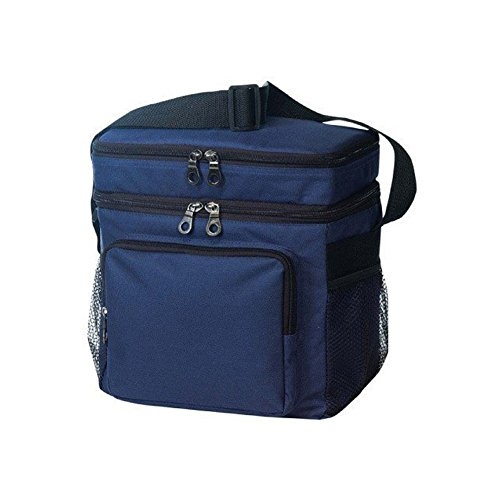 Travelwell 1 X Deluxe Poly Outdoor Sport Cooler with Lunch Bag, Navy