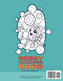 ROBOT COLOURING BOOQ: Fun Coloring Activity for All Ages