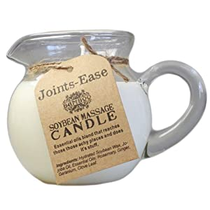 Soybean Natural Massage Candle (Variety: Joints Ease)