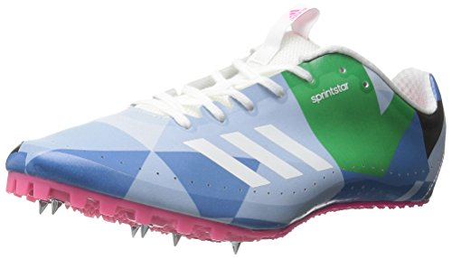 Zapatos para correr adidas Performance Sprintstar W, blanco / blanco / verde, 5 M US White/White/Shock Pink