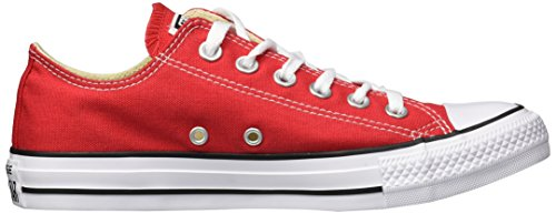 Converse Chuck Taylor All Star Canvas Lage Top Sneaker Rood