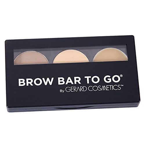 Brow Bar to Go, Brush on Brow - Gerard Cosmetics, Blonde to Brunette (Blonde) (Brow Bar)