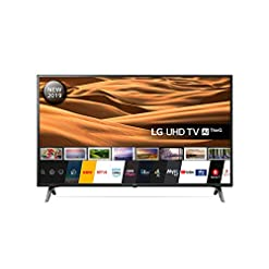 LG 43UM7100PLB 43 Inch UHD 4K HDR Smart LED TV with Freeview Play – Ceramic Black (2019 Model) Amazon exclusive, with…