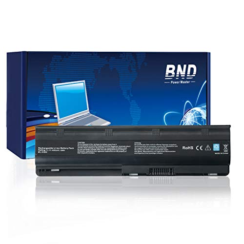 BND MU06 593553-001 Laptop Battery Compatible with HP Compaq Presario CQ72 CQ62 CQ57 CQ56 CQ42 CQ32-12 Months Warranty[6-Cell 4400mAh/48Wh] (Compaq Laptop Presario)