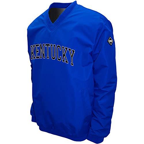 Franchise Cub MTC Kentucky Wildcats Men's Members Windshell Pullover Jacket Royal XXXL