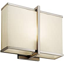 Kichler 10421SN One Light Wall Sconce
