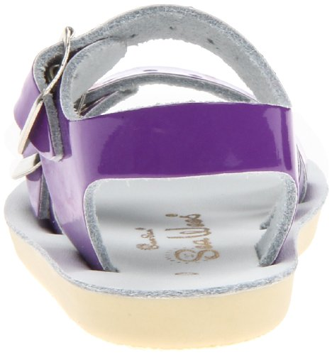 Toddler Little by Big Kid Sandal Hoy Purple Shoe Water Women's Shiny Sandals Salt Kid Wees Sea wPx8zEn