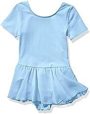 Amazon Essentials Girl's Short-Sleeve Leotard Dance D