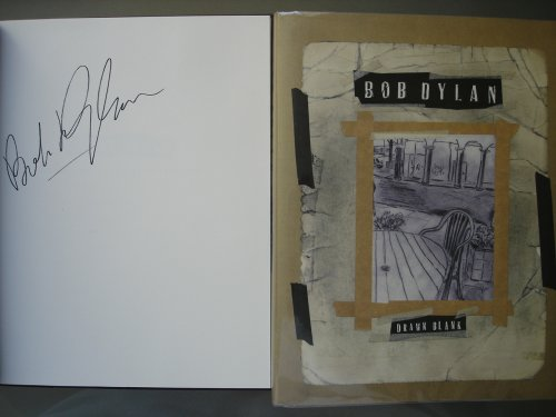 Drawn Blank (SIGNED 1st Edition) (Bob Dylan Signed)