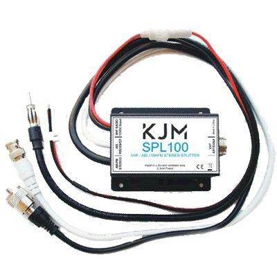 KJM VHF (TX/RX) AIS & AM/FM (RX) Splitter