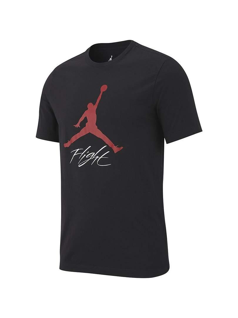 Nike Jumpman Flight Hbr tee T-Shirt de Baloncesto, Hombre AO0664