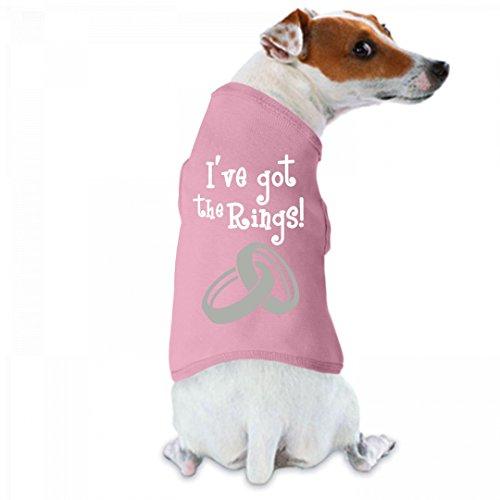 I've Got the Rings: Doggie Skins Dog Tank Top