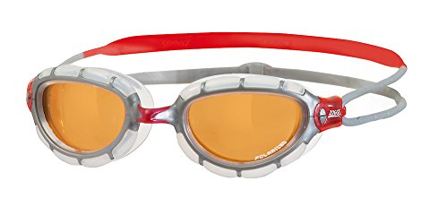 ZOGGS 315869-057 Predator Polarized Swim Goggles, Small/M...