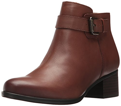 Naturalizer Women's Dora Ankle Bootie, Coffee, 8.5 M US