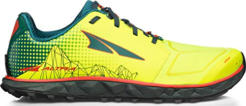 Altra Men's Superior 4 Trail Running Shoe, Neon/Blue - 10.5 M US (Best Cushioned Trail Running Shoes 2019)