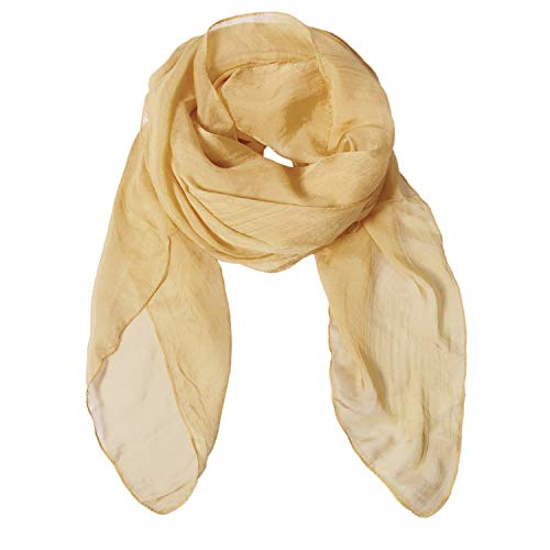 Solid Color Silk Scarf Can Be Used as Shawl, Scarf and Wrap (Dyeing Silk)