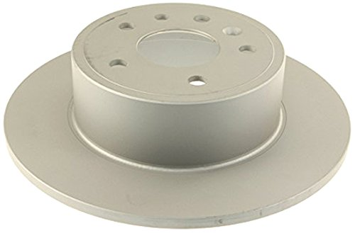 Zimmermann Coated and Cross-Drilled Disc Brake Rotor