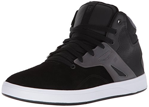 Image of DC Men's Frequency HIGH Skate Shoe, Black/White, 11 D US