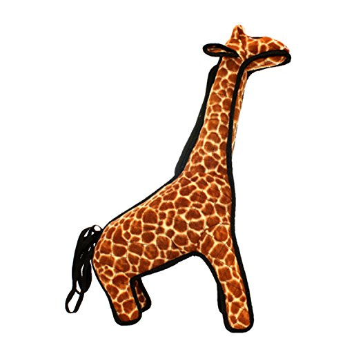 TUFFY Zoo Animal Giraffe, Durable Dog Toy, Large (The Biggest Ball Pit In The World)