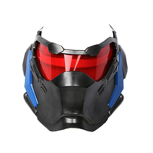 Soldier 76 Mask Game Cosplay Props Helmet Halloween Party Cosplay Weapon -