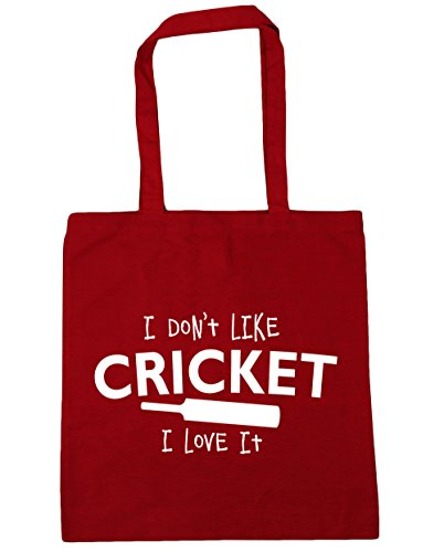Red Gym Like Cricket I 42cm Tote Bag Shopping Don't x38cm it love litres 10 Classic HippoWarehouse Beach I zTqEdwzx