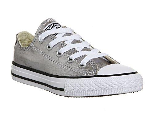 Converse Chuck Taylor All Star - Zapatos de lona, unisex Gunmetal Metallic
