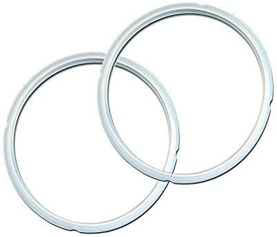 Instant Pot Sealing Ring 2 Pack Clear 8 Quart, IP-Sealing Ring Clear Combo, 8 Qt