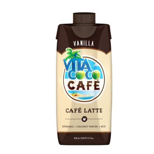 Vita Coco Café Latte, Vanilla, 11.1 Ounce (Pack of 12) (Santa Monica Juice compare prices)