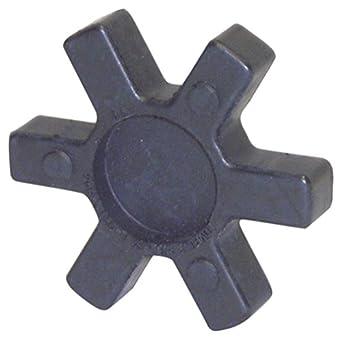 "Lovejoy 11070 Size L-AL 090-095 Solid Type Jaw Coupling Elastomer Spider, SOX/NBR Rubber, 2.12"" OD, 0.44"" Elastomer Length, 194 in-lbs Nominal Torque"
