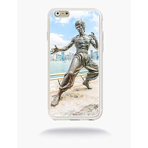 Generic Bruce Lee Silicone Case for Apple iPhone 6 Matte White