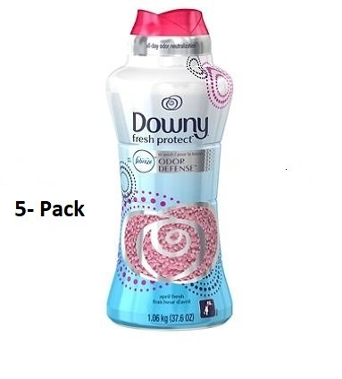 Downy Fresh Protect April Fresh In-Wash Odor Shield Scent Booster (37.6 oz.) (5) by Downy
