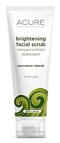Aubrey Natural Soap (ACURE Brightening Facial Scrub, 4)