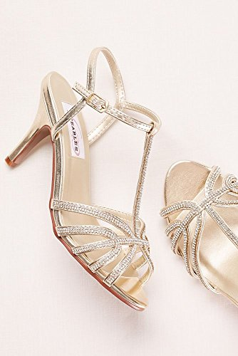 Davids Bridal Touch UPS Lexi Strappy Sandal Style Lexi Gold AOZHeDuS4