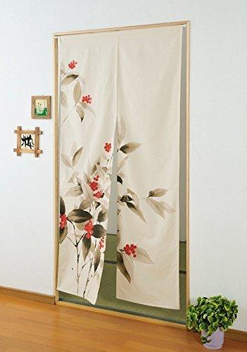 Beautiful Noren Japanese Doorway Curtain Long Typeu0026#x3000;Japanese Sarcandra