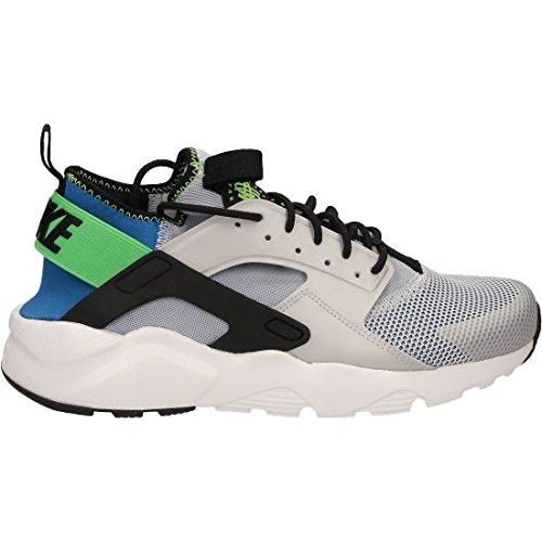 Nike Mens Air Huarache Run Ultra Running Sneaker 819685-400 (9.5 D(M) US, RYL BLUE/BLK-SCRM GRN-PR PLTNM)