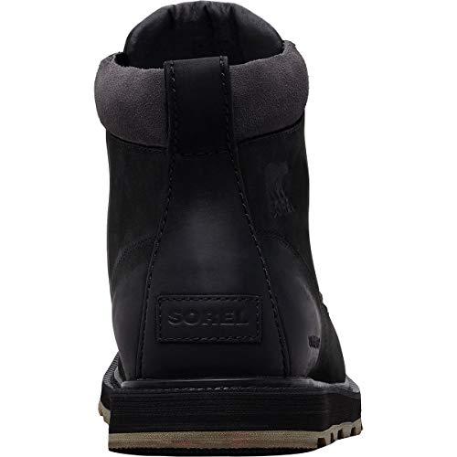 Waterproof Sorel nero stivaletti Toe uomo e 010 neri grigio Moc da scuro Madson Stivaletti f8AZwqZ