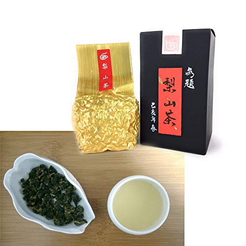 Tepacito Oolong Tea Loose Leaf Taiwan Lishan High Mountain Tea Handpicked Premium Grade Natural Pure Authentic Fresh No Additives Flavors Essences