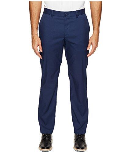 NIKE Men's Flat Front Golf Pants, Midnight Navy/Midnight Navy, Size 34/32 (Dri Fit Nike Golf Pants Men)