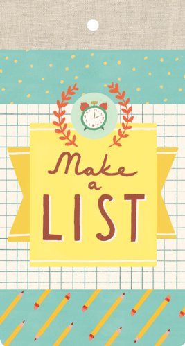 Make a List List Pad PDF