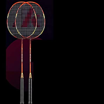 f10e7034756f5 Raquette De Badminton Double Shot Haute Qualité Professionnel Full Carbon  Durable Ultra Léger Adulte Single Shot