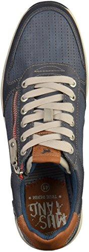 Mustang4114-302-800 - Zapatillas de casa Hombre Azul (Dunkelblau 800)