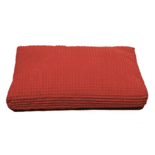 Cpc Plush Buttons Ex Large Pet Bed, Red